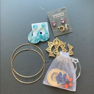 Earring lot!